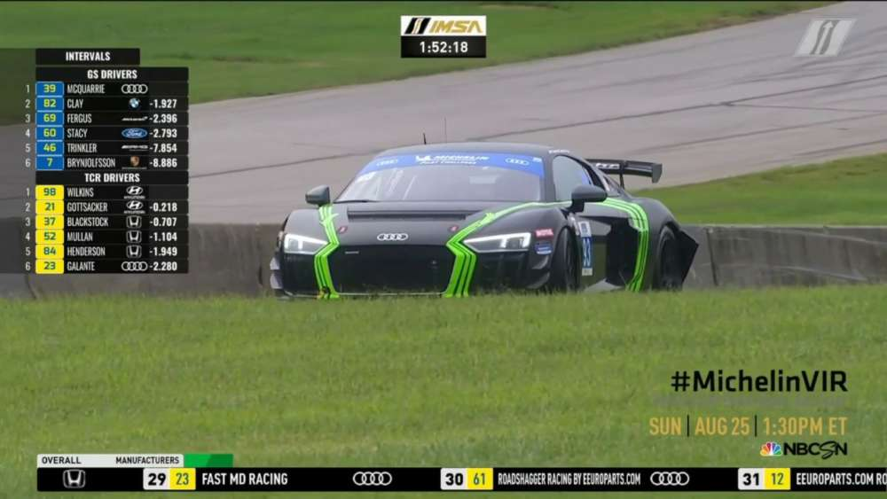 IMSA Michelin Pilot Challenge 2019. Race Virginia International Raceway. Mark Siegel Crash_5d6183be4161a.jpeg