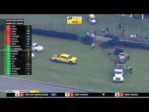 IMSA WeatherTech SportsCar Champ. 2019. Race Virginia International Raceway. Big Crash Aftermath_5d62eb842c340.jpeg