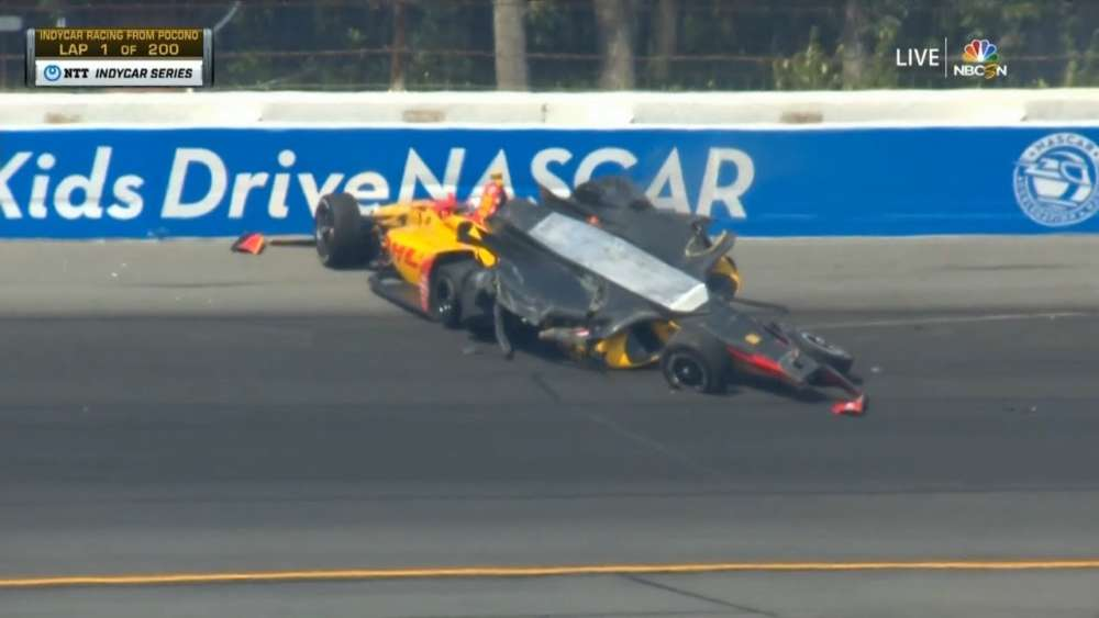 IndyCar Series 2019. Pocono Raceway. Huge Crash (All Angles)_5d5abc4a0e9c3.jpeg