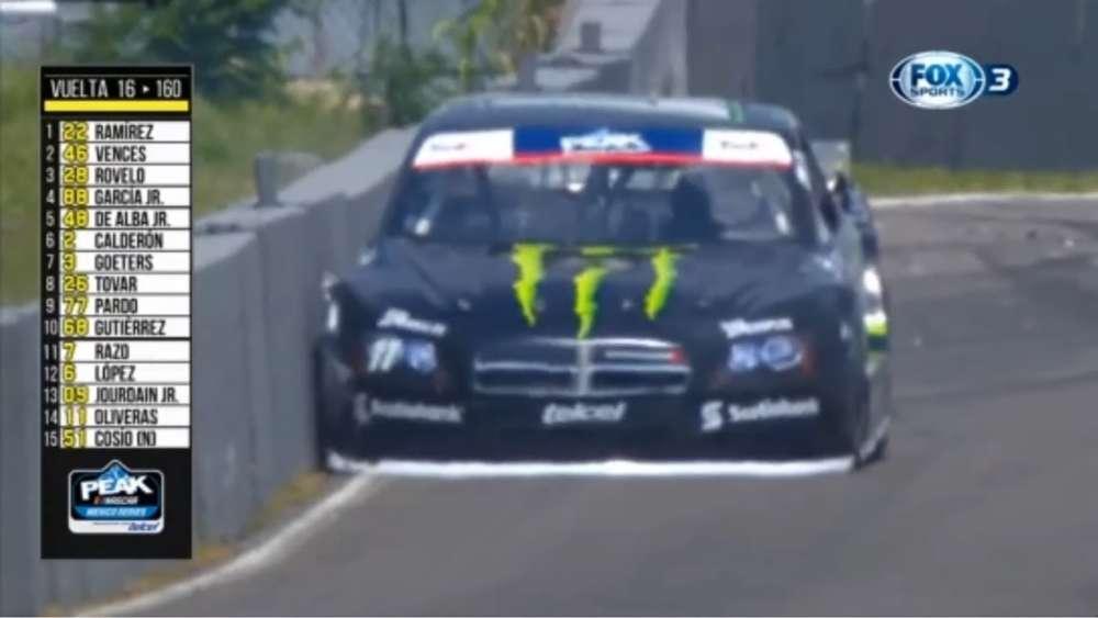 NASCAR PEAK Mexico Series 2019. Race Autódromo de Quéretaro. Hugo Oliveras Crash_5d49652ed60d1.jpeg