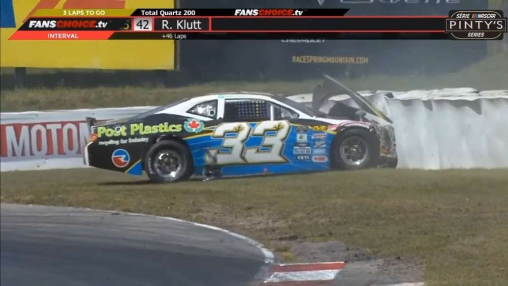 NASCAR Pinty's Series 2019. Race Canadian Tire Motorsport Park. Kevin Poitras Crash_5d62e480d9dcb.jpeg