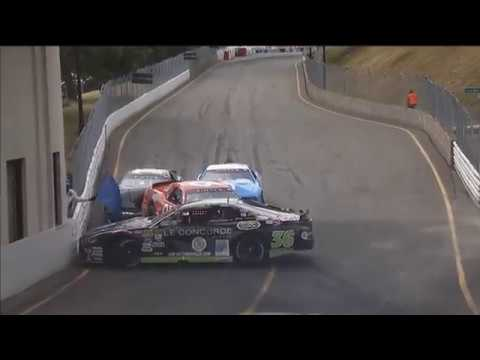 NASCAR Pinty's Series 2019. Race Circuit Trois-Rivières. Multiple Crash_5d515c2e3ccb6.jpeg