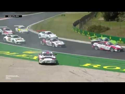 Porsche Mobil 1 Supercup 2019. Race Hungaroring. Start Multiple Crash_5d46ba04d5901.jpeg