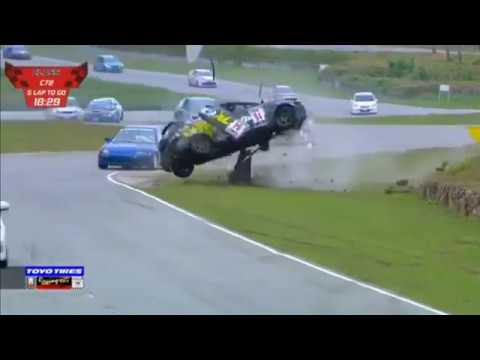 Racing Car Thailand (Class C72) 2019. Kaeng Krachan Circuit. Big Crash Rolls_5d4b20486f56f.jpeg