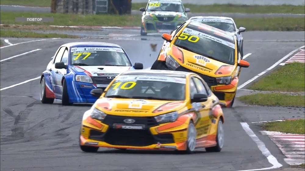 RCRS (Super-Production & Touring-Light) 2019. Race 2 ADM Raceway. Crashes_5d4bc7da4770b.jpeg
