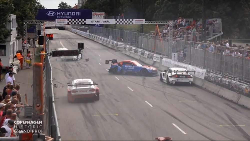 Super GT Danmark 2019. Final Copenhagen Historic Grand Prix. Multiple Crash Red Flag_5d53103d32d49.jpeg