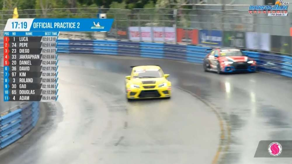 TCR Asia 2019. Practice 2 Bangsaen Grand Prix. David Lau Crash_5d697d2a3d390.jpeg
