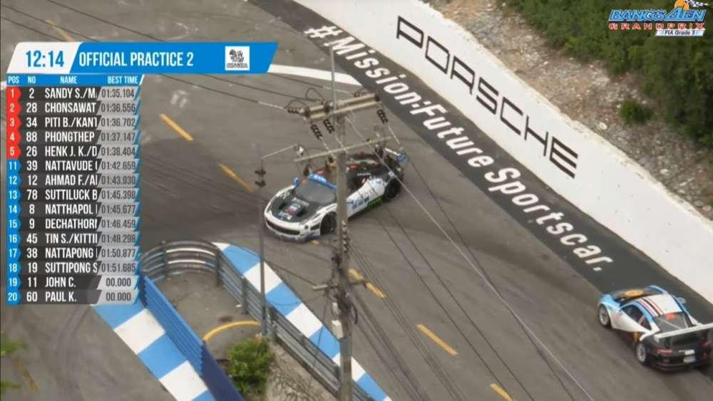 Thailand Supercar GT3/Supercar GTM/Porsche GTM 2019. FP2 Bangsaen Grand Prix. Spins_5d6a4b8fc9103.jpeg