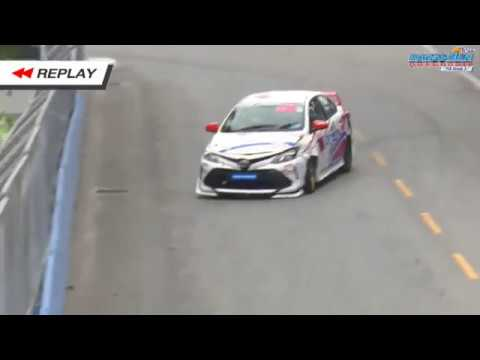 Toyota Corolla Altis 2019. Qualifying Bangsaen Grand Prix. Crash_5d6978922de69.jpeg