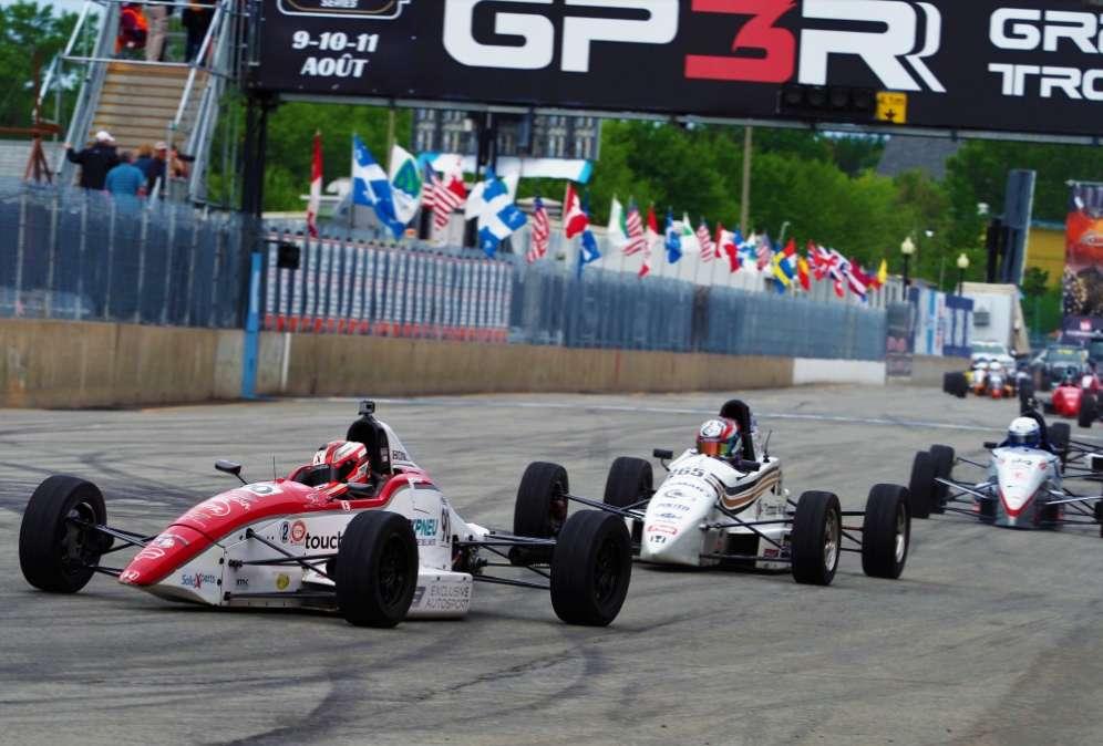 Olivier Bédard monte 3 fois sur le podium à Trois-Rivières