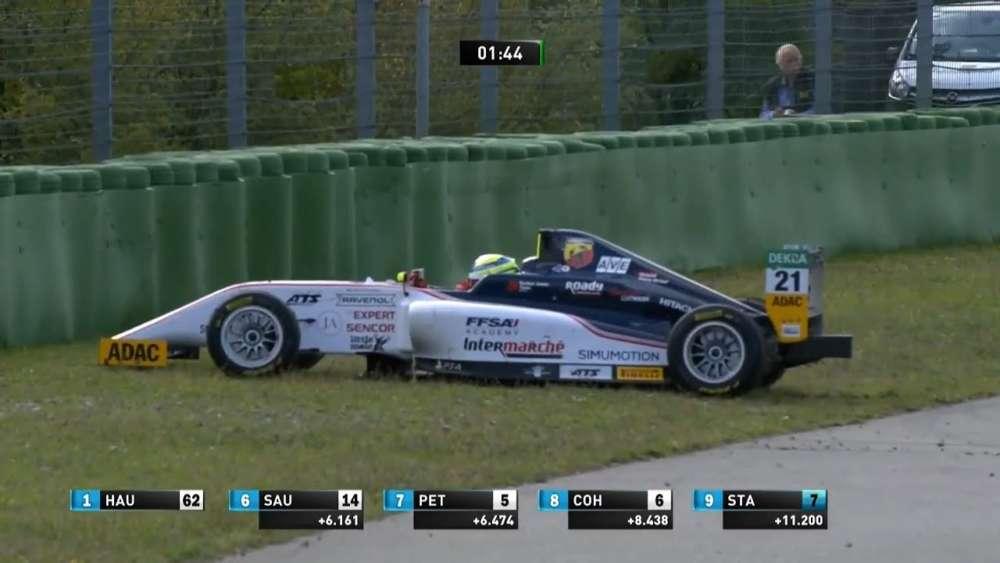 ADAC Formula 4 2019. Race 1 Hockenheimring. Arthur Leclerc & Théo Pourchaire Crash_5d7cdb75e83db.jpeg