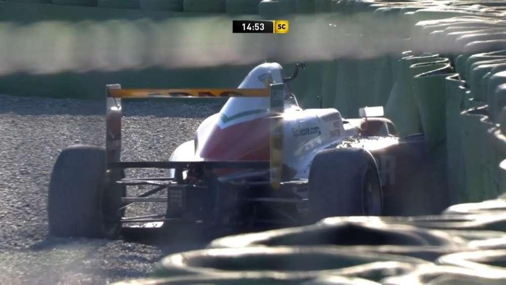 ADAC Formula 4 2019. Race 3 Hockenheimring. Oliver Rasmussen Crash_5d7e5aa99a216.jpeg