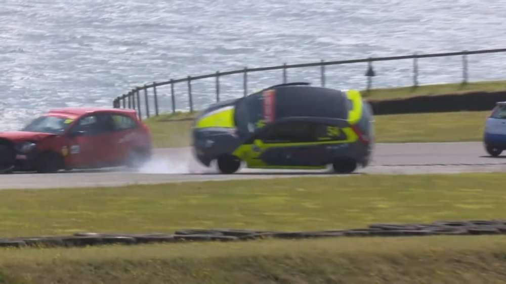 BRSCC Fiesta Championship 2019. Race 1 Anglesey Circuit. Huge Crash Red Flag_5d79068b151b3.jpeg