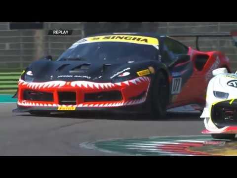 Ferrari Challenge Europe (Coppa Shell) 2019. Race 1 Autodromo di Imola. Full Race_5d90b1a50bf3b.jpeg