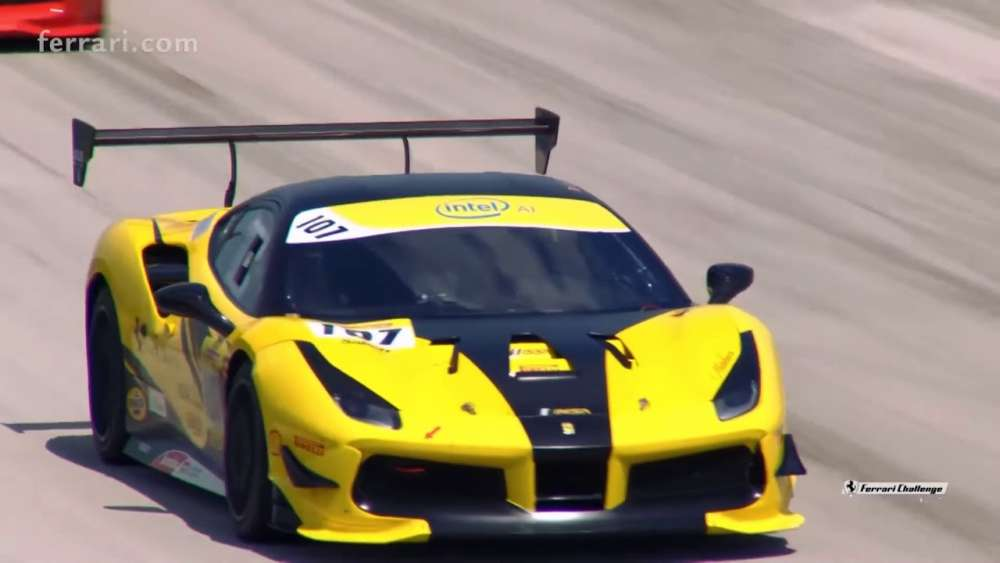 Ferrari Challenge North America (C. S.) 2019. Race 1 Homestead-Miami Speedway. Crash | Big Crash_5d77d8697bdf5.jpeg