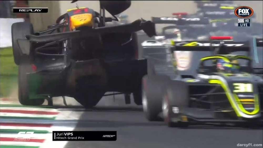 FIA Formula 3 2019. Race 1 Autodromo Nazionale Monza. Jüri Vips Crash_5d7376de64a23.jpeg