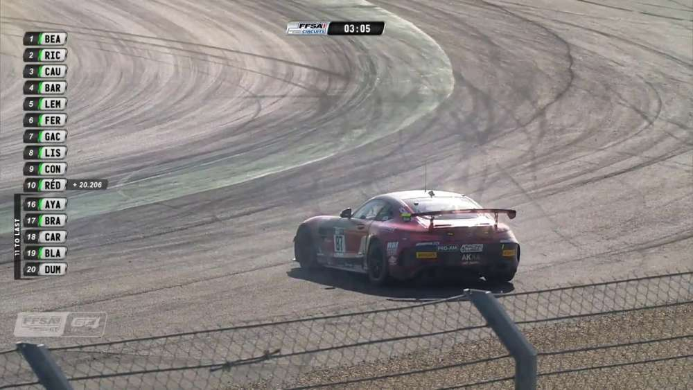 GT4 France 2019. Race 2 Circuit de Nevers Magny-Cours. Leader Off_5d7e513c25544.jpeg