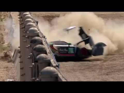 IMSA WeatherTech SportsCar Championship (GTD) 2019. Qualifying Laguna Seca Raceway. Hard Crash_5d7de43d0f295.jpeg