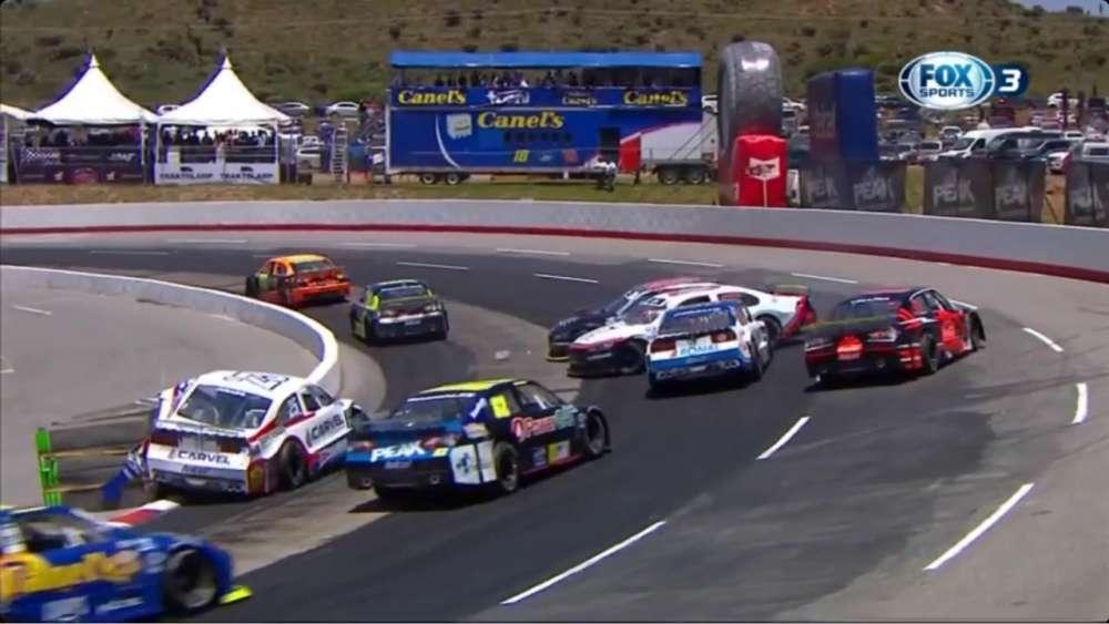 NASCAR FedEx Challenge 2019. Súper Óvalo Potosino. Multiple Crash_5d6f687e26420.jpeg