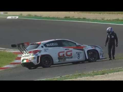 TCR Italy 2019. Race 2 Autodromo Vallelunga. Start Crash_5d7dea171dfc7.jpeg