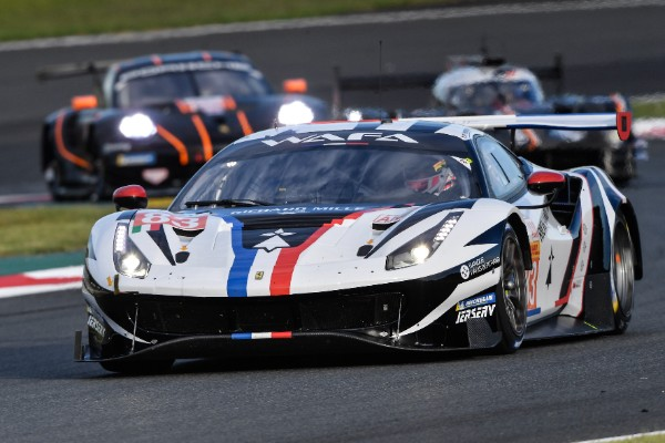 FERRARI ON THE PODIUM IN LMGTE AM AT THE 6 HOURS OF FUJI