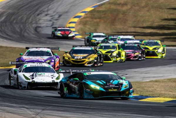 LATE RACE CHARGE BY PAUL MILLER RACING EARNS IMSA GTD MANUFACTURER'S  CHAMPIONSHIP FORLAMBORGHINI