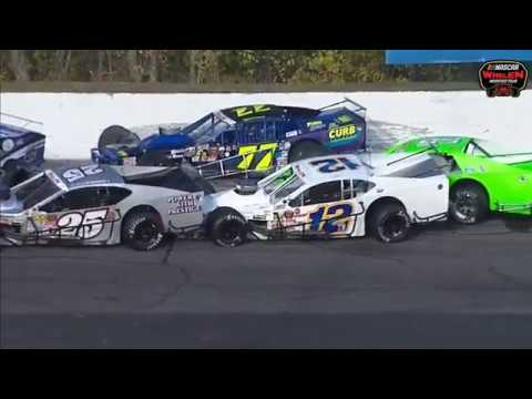 NASCAR Whelen Modified Tour 2019. Thompson Speedway Motorsports Park (4). Pile Up Red Flag_5da73f0fcdefe.jpeg