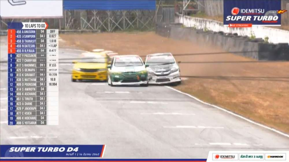 Super Turbo Thailand (Super Turbo D4) 2019. Race 1 Bira International Circuit. ..Spins_5daa0c6eeabc8.jpeg