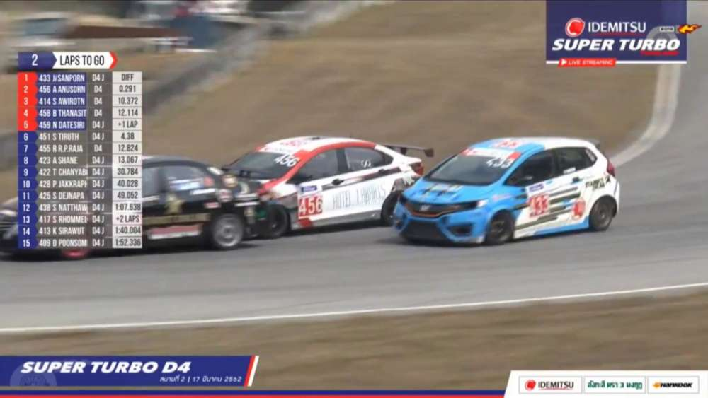 Super Turbo Thailand (Super Turbo D4) 2019. Race 2 Bira International Circuit. Final Laps_5daa0c61b7977.jpeg