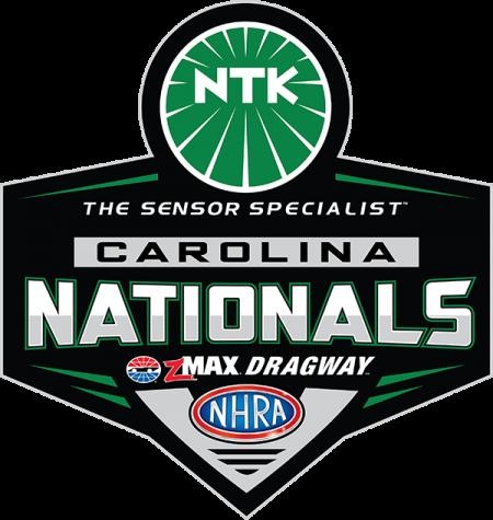 NHRA Carolina Nationals logo