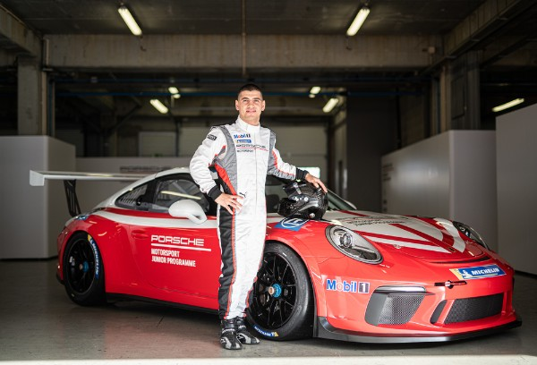 AYHANCAN GUVEN IS THE NEW PORSCHE JUNIOR IN THE 2020 SUPERCUP