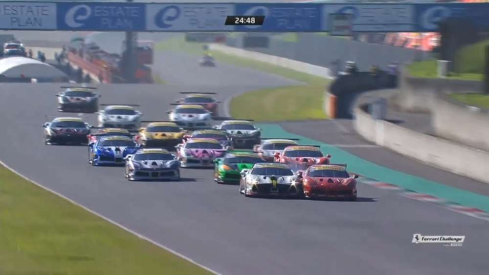 Ferrari Challenge (World Final Coppa Shell) 2019. Autodromo Internazionale del Mugello. Full Race_5dccbd391df7a.jpeg
