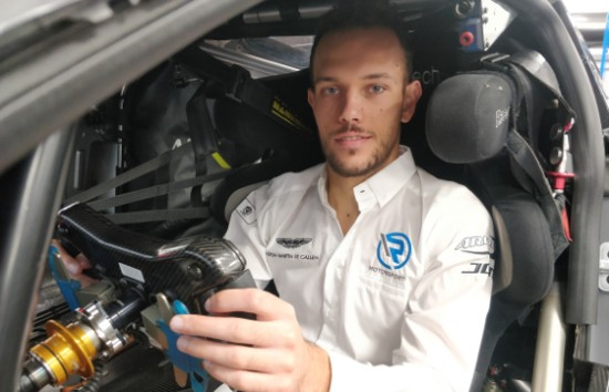 LUCA GHIOTTO JOINS R- MOTORSPORT'S ASTON MARTIN VANTAGE GT3 PROGRAM