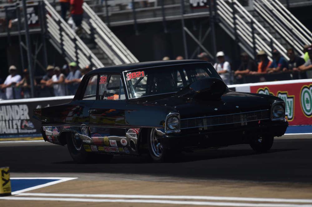 Jeremy Mason, the Lucas Oil Drag Racing Series 2019 Super Gas World Champion
