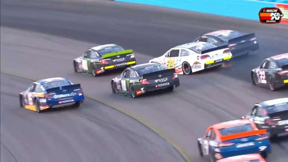 NASCAR K&N Pro Series West 2019. ISM Raceway. Last Laps_5dc9954b1a1d8.jpeg