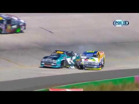 NASCAR Mexico Series 2019. Óvalo Aguascalientes México. Crashes & Fails Compilation_5dd2cfc3652fe.jpeg