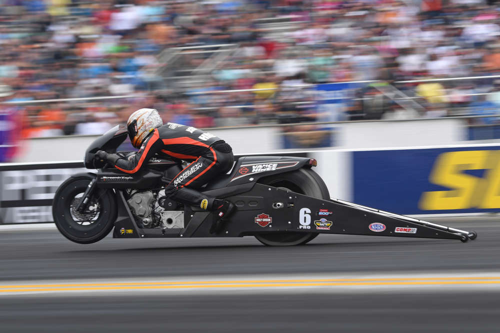Pro Stock Motorcycle - Andrew Hines - Auto Club NHRA Finals