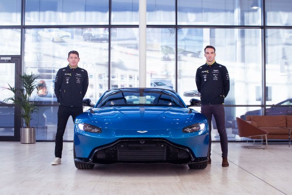 BRITISH STARS STRENGTHEN ASTON MARTIN LE MANS LINE-UP