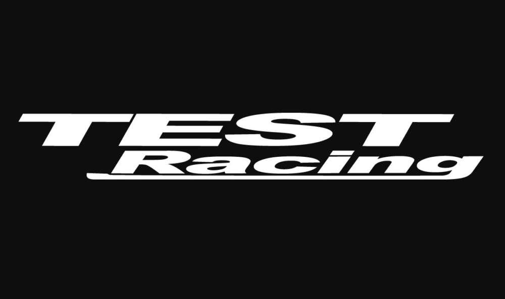 test racing logo