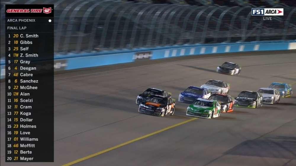 ARCA Menards Series 2020. Phoenix Raceway. Last Laps_5e638e775f48d.jpeg