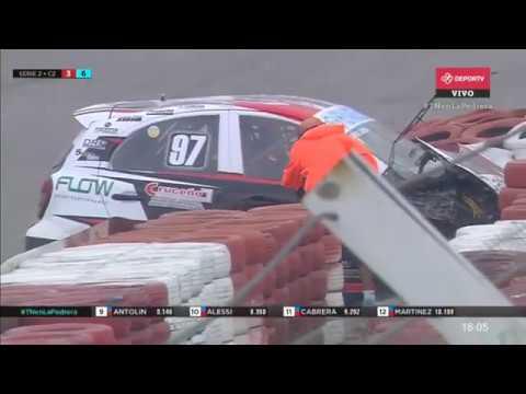 Turismo Nacional (Clase 2) 2020. QR2 Autódromo Internacional de La Pedrera. Hard Crash_5ecfe44b7ee77.jpeg