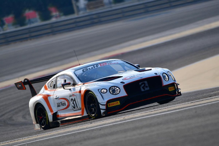 TEAM PARKER RACING BIDS FOND FAREWELL TO BENTLEY WITH STRONG PERFORMANCE AT GULF 12HOURS