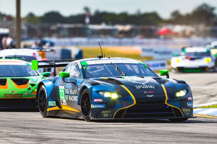 ASTON MARTIN VANTAGE GT3 CLAIMS SEBRING 12 HOURS PODIUM FOR SECOND CONSECUTIVE YEAR