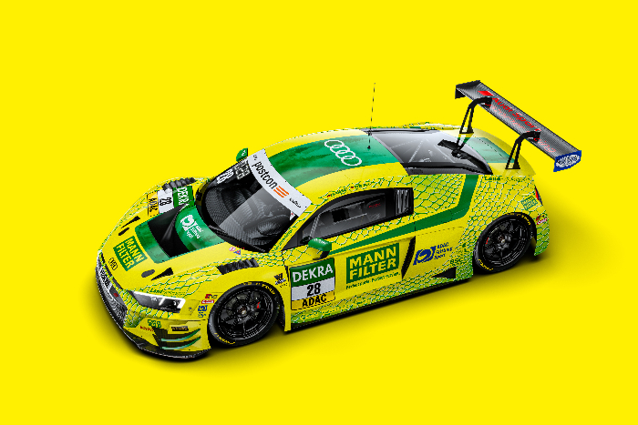 "MONTAPLAST BY LAND-MOTORSPORT LINES UP IN THE ADAC GT MASTERS WITH A SECOND ""MAMBA"""