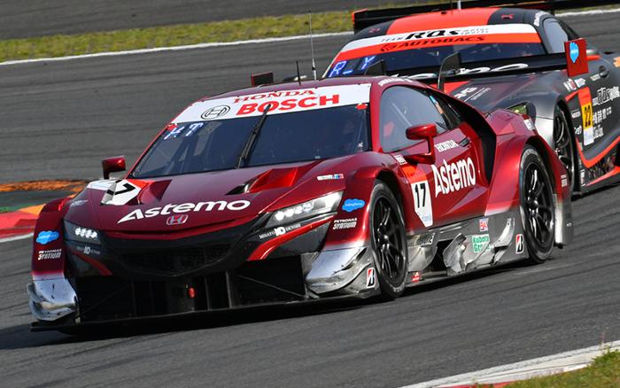 ASTEMO NSX-GT WINS SUPER GT BY A CLOSE MARGIN ATFUJI