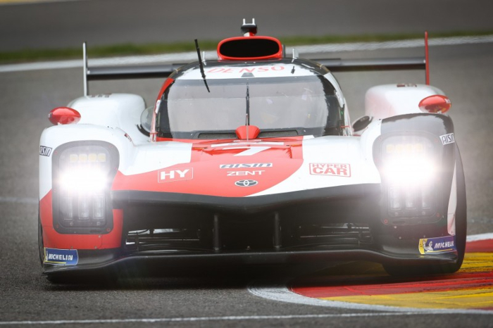HISTORIC FIA WEC HYPERCAR POLE FOR TOYOTA GAZOO RACING
