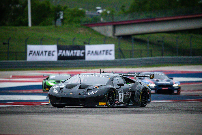 LAMBORGHINI CONTINUES PERFECT START TO GT WORLD CHALLENGE AMERICA SEASON AT COTA