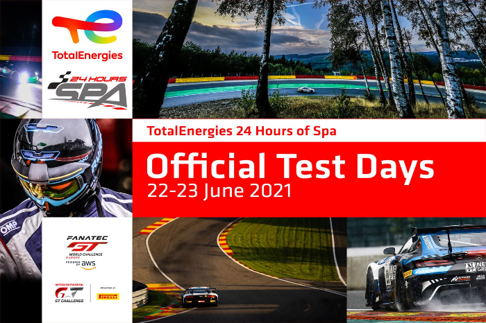 24 HOURS OF SPA PREPARATIONS ENTER CRUCIAL PHASE AT OFFICIAL TESTDAYS_60d1c023d358a.jpeg