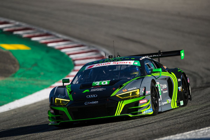 CARBAHN WITH PEREGRINE RACING STRIVED FOR CONTINUED GROWTH AND SUCCESS AMIDST A TRYING RACE AT LAGUNASECA